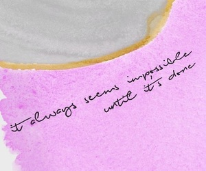inspiration, quotes, and pink image