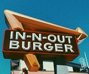 grunge, in n out, and random image