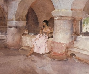 art, colors, and william russell flint image