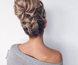 hair, easy hairstyles, and hairstyle image