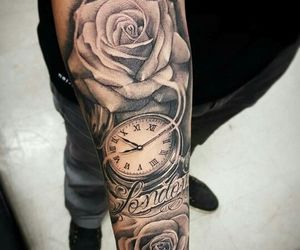 flowers, london, and time image