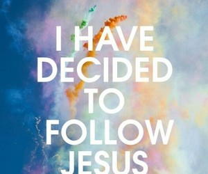 jesus, follow, and god image