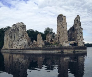 latvia, traveling, and castle ruins image