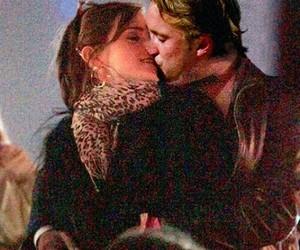 emma watson, couple, and kiss image