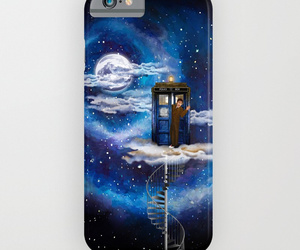 dr who, iphone case, and geek image