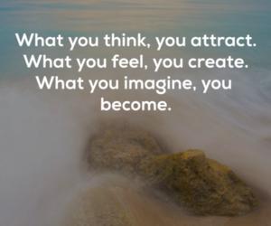 create, feel, and imagine image