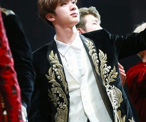 jin, bts, and kim seok jin image