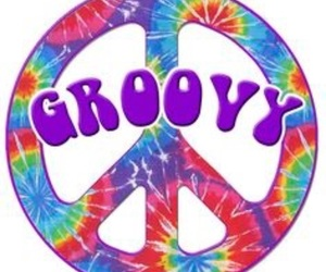 groovy, hippie, and peace image