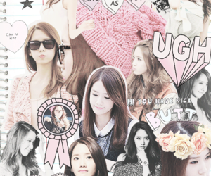 yoona, snsd, and Collage image