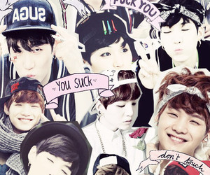 bts, Collage, and kpop image