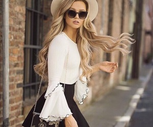 beauty, clothes, and woman image