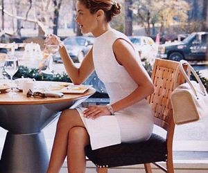 beautiful, cafe, and girl image