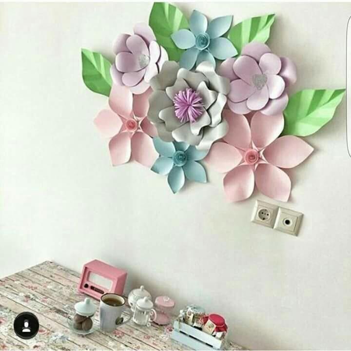 diy, room decoration, and flower image