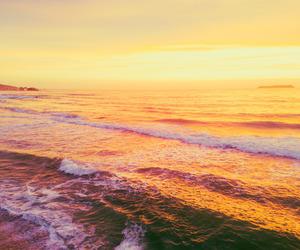 calm, nature, and sea image
