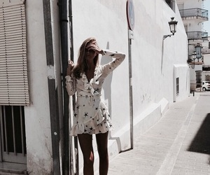 dress, girl, and travel image