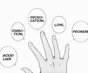 love, promise, and hand image