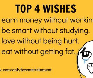 text, wishes, and funny image