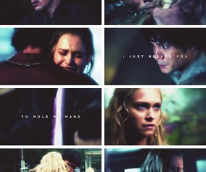 tv shows, clarke griffin, and edits image