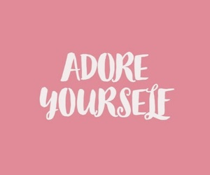quotes, pink, and adore image
