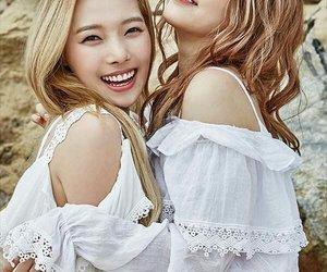 jiwoo, somin, and matthew kim image