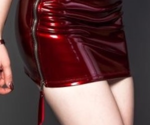 fashion, red, and Hot image