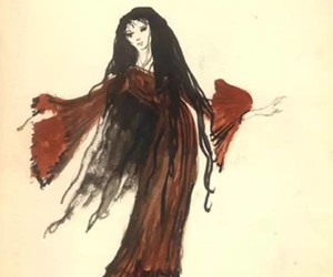 art, costume design, and drawing image