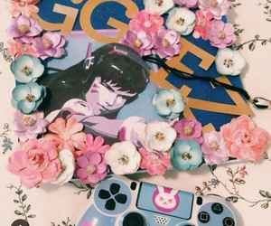 flowers, girly, and korean image