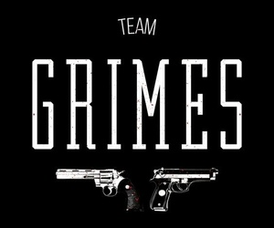 grimes, serie, and zombies image