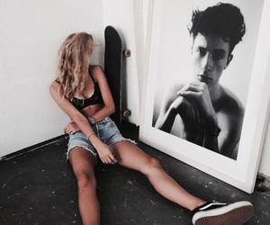 girl, fashion, and boy image