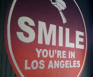los angeles and smile image