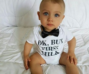 baby, perfect eyes, and blue eyes image