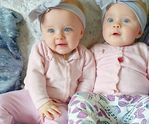 babies, twins, and perfect eyes image