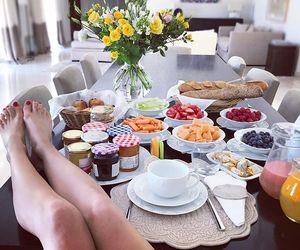 beautiful, breakfast, and food image