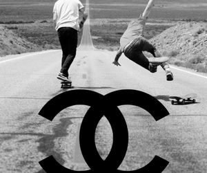 chanel, boy, and skate image