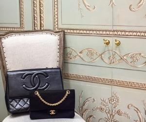 chanel, black, and luxury image