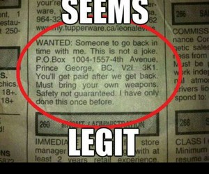 newspaper, legit, and time travel image