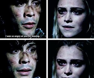 bellarke, the 100, and bellamy blake image