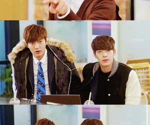 lee min ho, the heirs, and kim woo bin image