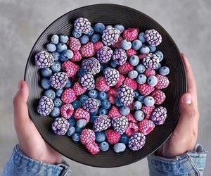 berries, black, and blue image