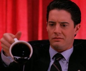 coffee, Twin Peaks, and dale cooper image