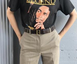 belt, bob marley, and classy image