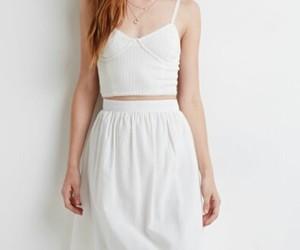 dress, white, and whiteshirt image