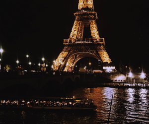 paris, gold, and theme image