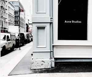 acne studios, acne, and city image