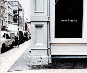 acne studios, acne, and city image