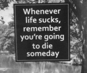 life, die, and quotes image