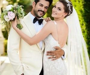 wedding and fahriye evcen image