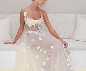 dresses, prom dress, and simple dress image