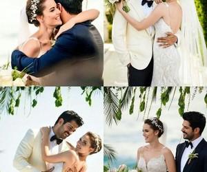 couple love, happyness, and wedding image