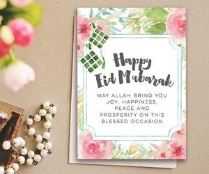 allah, eid mubarak, and islam image